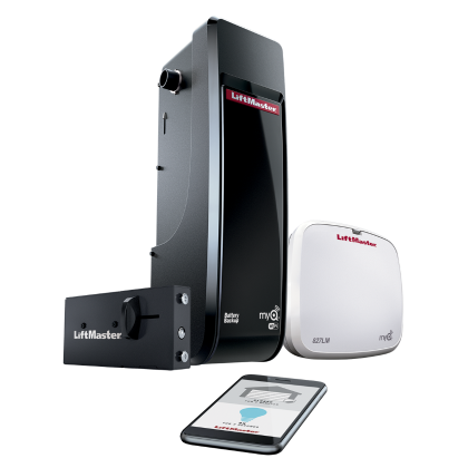liftmaster 8500w side mount opener and app